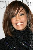 Whitney Houston at the Clive Davis Pre-Grammy Awards Party, Beverly Hilton Hotel, Beverly Hills, CA.