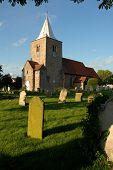 Churchyard Evening
