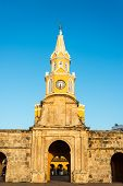 Cartagena Clock Tower Gate
