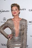 Amber Heard at the 2011 Art Of Elysium
