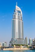 Address Hotel In The Downtown Dubai Area Overlooks The Famous Dancing Fountains