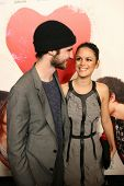 Rachel Bilson and Tom Sturridge at the Premiere Of