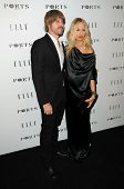 Rodger Berman and Rachel Zoe at the ELLE Women in Television party, SoHo House, West Holly, CA. 01-25-11