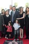 Adam Sandler, Jackie Sandler, Sadie Sandler, Sunny Sandler at Adam Sandler's Star on the Hollywood W