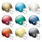 American Football Helmets