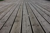 Grooved Wooden Planks