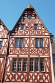 Half-timbered Houses In Trier