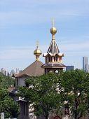 Holy Trinity Orthodox Church Domes