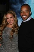 CaCee Cobb and Donald Faison at the