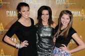 Martina McBride and Daughters at the 44th Annual CMA Awards, Bridgestone Arena, Nashville, TN.  11-1