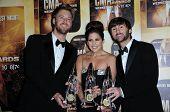 Lady Antebellum at the 44th Annual CMA Awards, Bridgestone Arena, Nashville, TN.  11-10-10