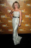 Laura Bell Bundy at the 44th Annual CMA Awards, Bridgestone Arena, Nashville, TN.  11-10-10