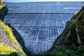 Dam Grand Dixence. Switzerlanddixence. Switzerland. Lake Dix