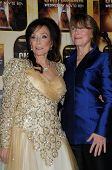 Loretta Lynn, Sissy Spacek at the 44th Annual CMA Awards, Bridgestone Arena, Nashville, TN.  11-10-10
