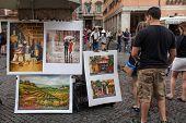 Paintings Navona Square