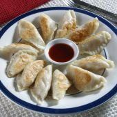 Dumplings and dip