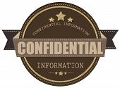 Confidential Information Stamp