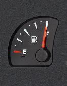 Fuel Gauge Showing Full Tank