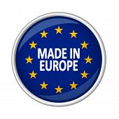 Button - Made In Europe