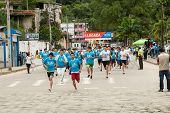 5K Run In Ecuador