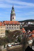 View Of Cesky Krumlov Castle