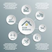 Roofer paper infographic