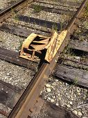 Railroad Car Derailer Safety Device 2