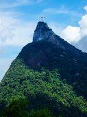 Statue Christ The Redeemer In Rio De Janeiro