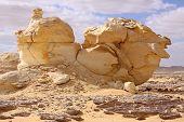 White Desert Near Farafra Oasis