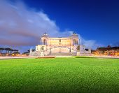 stock photo of altar  - National Monument to Victor Emmanuel II  - JPG