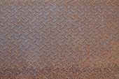 Old Metal Diamond Plate Background