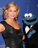 LOS ANGELES - JUN 20:  Jessica Collins, Cookie Monster at the 2014 Creative Daytime Emmy Awards at the The Westin Bonaventure on June 20, 2014 in Los Angeles, CA