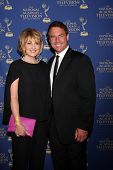 LOS ANGELES - JUN 20:  Christina Ferrare, Mark Steines at the 2014 Creative Daytime Emmy Awards at t