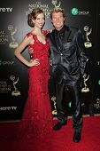 BEVERLY HILLS - JUN 22: Ashlyn Pearce, Winsor Harmon at The 41st Annual Daytime Emmy Awards at The Beverly Hilton Hotel on June 22, 2014 in Beverly Hills, California
