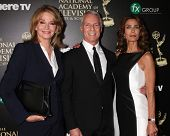 LOS ANGELES - JUN 22:  Deidre Hall, Greg Meng, Kristian Alfonso at the 2014 Daytime Emmy Awards Arrivals at the Beverly Hilton Hotel on June 22, 2014 in Beverly Hills, CA