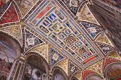 Mosaic dome of Siena Cathedral