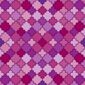Abstract Purple Pattern