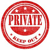 Private-stamp