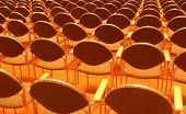 Rows Of Seats In The Concert Hall