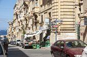 Live On The Street Of Valleta, Malta