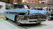 Blue Packard Executive 1956 Classic Car