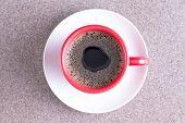 Cup Of Fresh Energising Black Coffee