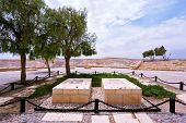 Kibbutz Sde Boker in the Negev desert.  Memorial Cemetery of the founder of Israel, David Ben Gurio