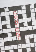 Content Crossword Puzzle