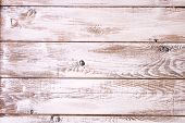 Old planks painted white background