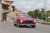 Ferrari 250 Gt Europa Pinin Farina (1955) In Mille Miglia 2014