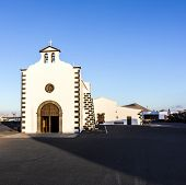 Church Of Lady Of Los Dolores In Tinajo