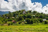 foto of west village  - Beautiful hilltop village in Mamasa Valley West Toraja South Sulawesi Indonesia - JPG