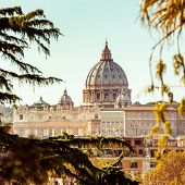 St Peters basilica in Rome, Italy
