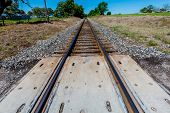 Texas Train Tracks